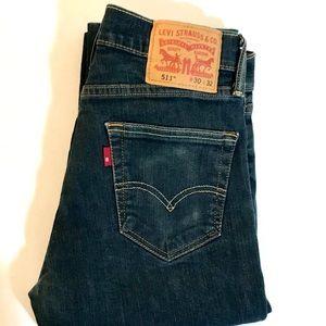 Levi's 511 skinny stretch jeans